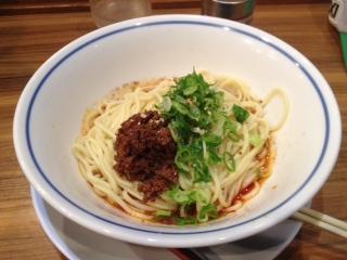 櫻蘭の汁なし坦々麺