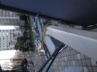 阪神百貨店の二階連絡通路が…