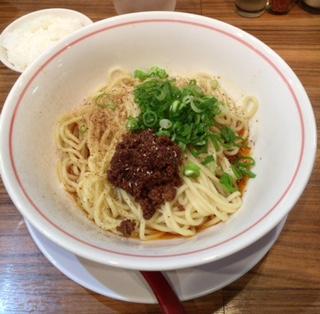 汁なし担々麺「桜蘭」(北新地)